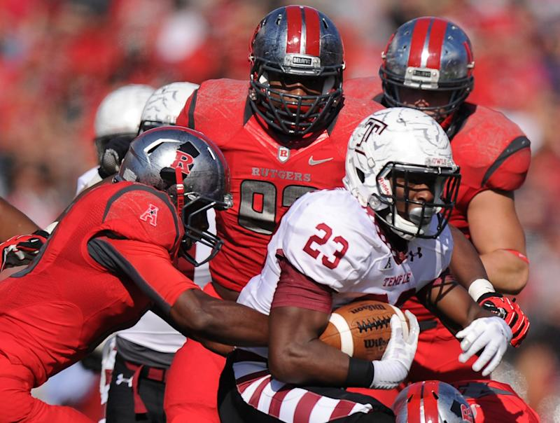 Zaire Williams rushed for over 500 yards as a freshman at Temple in 2013. (Photo by Maddie Meyer/Getty Images)