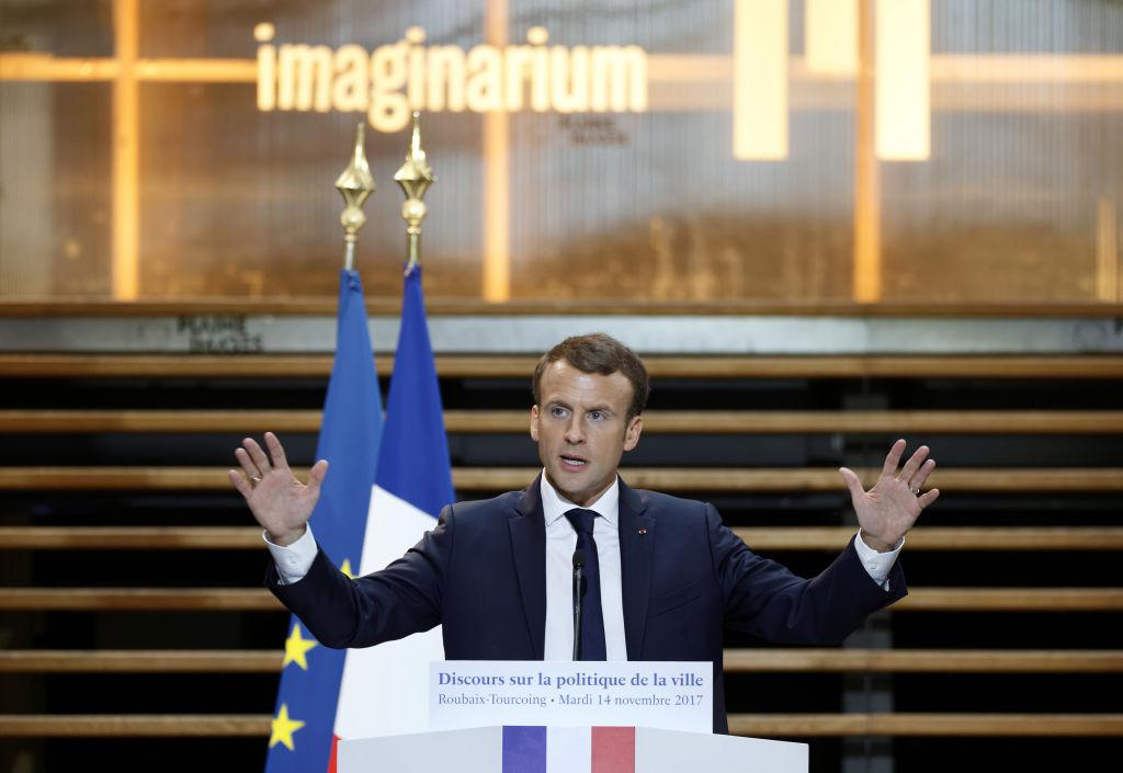 """<p><span>At the age of 39, Emmanuel Macron became the youngest President in French history when he beat National Front candidate Marine Le Pen in the second and final round of the election. Despite </span><a rel=""""nofollow"""" href=""""https://uk.news.yahoo.com/stakes-could-not-higher-president-macron-182200280.html""""><span>high hopes for the young French leader</span></a><span>, polls show that Macron's </span><a rel=""""nofollow"""" href=""""https://uk.news.yahoo.com/macron-popular-least-hes-imprisoned-snow-globe-162601673.html""""><span>popularity has plummeted</span></a><span> since he came to power because of what aides refer to as his """"Jupiterian"""" presidential style — distant and grand. </span>(Getty) </p>"""