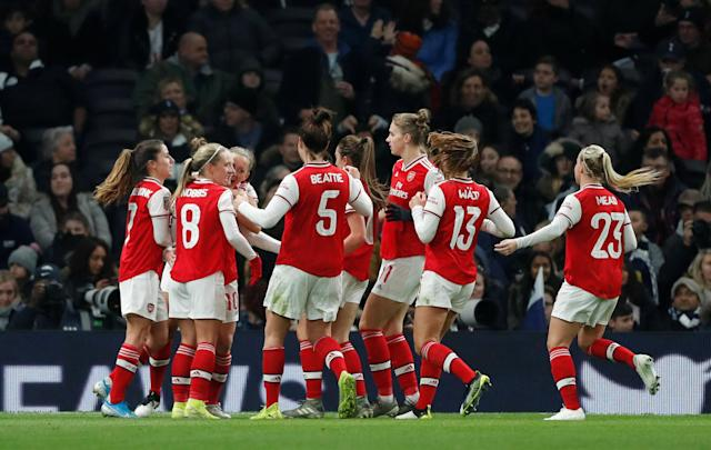 Vivianne Miedema scored six and assisted four in Arsenal's 11-1 win Action Images via Reuters/Matthew Childs