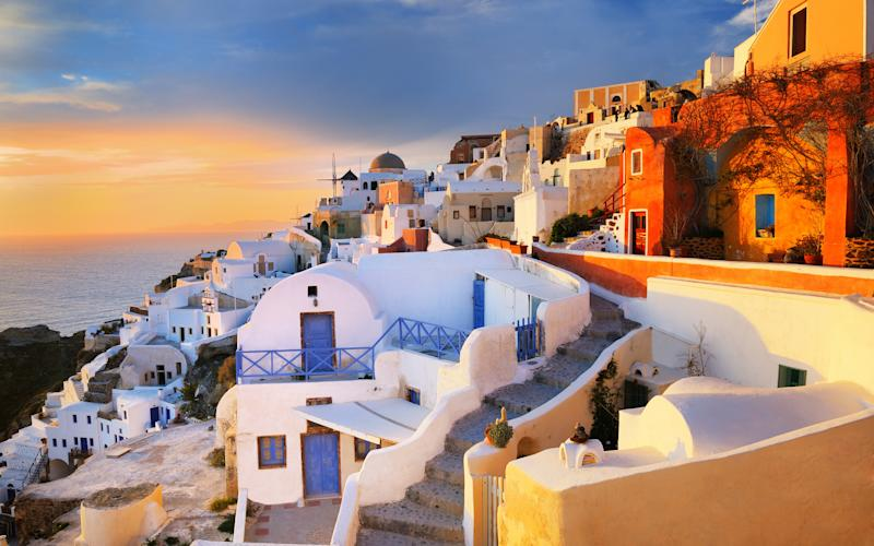 Will it be Santorini? Answer our questions for find out