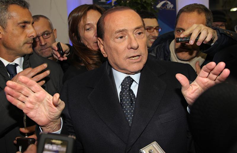 Europe ignores Berlusconi's political ambitions