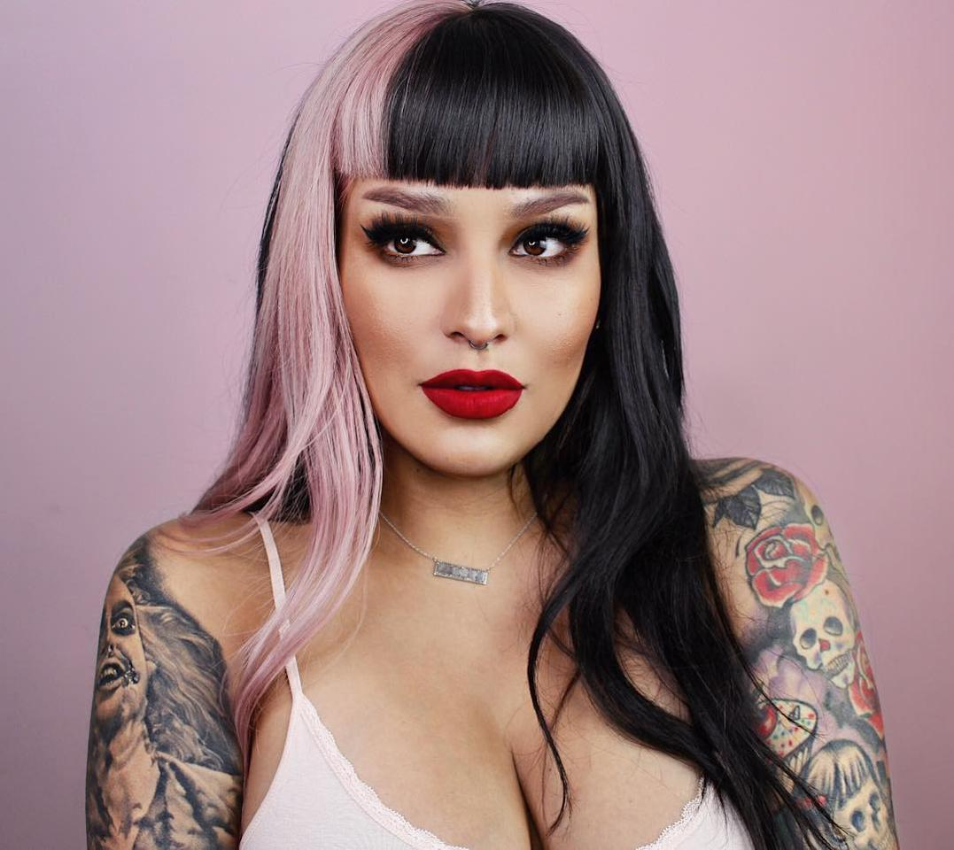 """<a href=""""https://www.youtube.com/channel/UCr3HmNYYR7rjikIArBXgpmw"""" target=""""_blank"""">Arellano</a> is an L.A.-based Mexican-American makeup artist who started her own line called <a href=""""https://www.meltcosmetics.com/"""" target=""""_blank"""">Melt Cosmetics</a>. She constantly posts looks using her own makeup to her 1M+ followers on Instagram. Her client list includes Rihanna, Bebe Rexha, Serena Williams and more heavy hitters."""