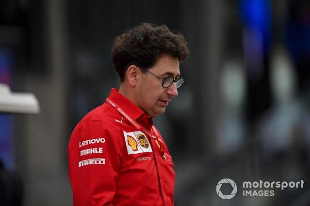 "Mattia Binotto, Team Principal Ferrari <span class=""copyright"">Jerry Andre / Motorsport Images</span>"