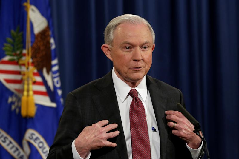 Sessions' Recusal Speech Filled With Puzzling Comments