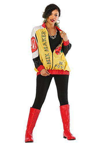 """<p><strong>Fun Costumes</strong></p><p>amazon.com</p><p><strong>$49.99</strong></p><p><a href=""""https://www.amazon.com/dp/B07BB1QWPV?tag=syn-yahoo-20&ascsubtag=%5Bartid%7C10055.g.22074138%5Bsrc%7Cyahoo-us"""" rel=""""nofollow noopener"""" target=""""_blank"""" data-ylk=""""slk:Shop Now"""" class=""""link rapid-noclick-resp"""">Shop Now</a></p><p>Grab your best friends and throw on this colorful ensemble to become the hip-hop girl group Salt-N-Pepa, whose hits """"Push It,"""" """"Shoop"""" and """"Let's Talk About Sex"""" are necessary for any '90s playlist. </p>"""