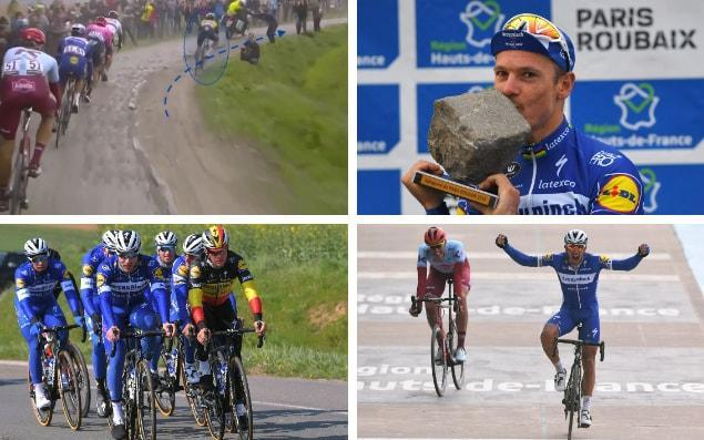 Philippe Gilbert claims Paris-Roubaix – but how did veteran Belgian claim historic Deceuninck-Quick Step win?