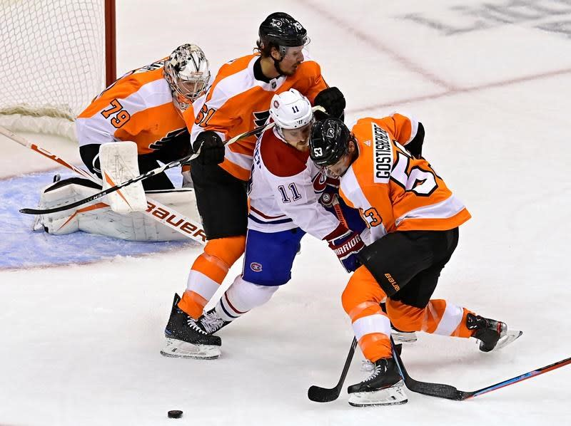 Flyers beat Canadiens 2-1 in Game 1, but Montreal shows it can hang with Philly