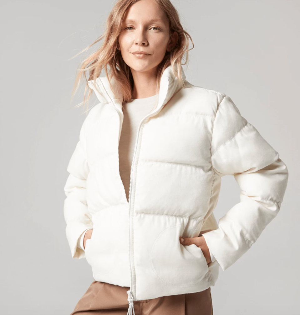 The Trino Puffer by Allbirds is available in two colours, for both men and women.