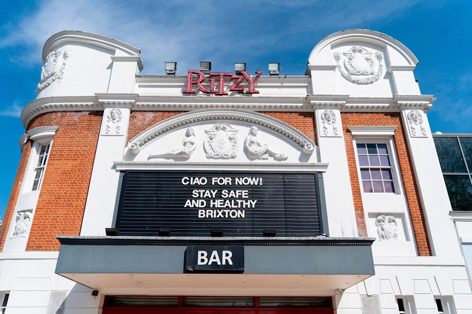 The Ritzy in Brixton, formerly the Electric Cinema, was once known for late-night showings of porn films and the latest Kung Fu moviesAFP via Getty Images