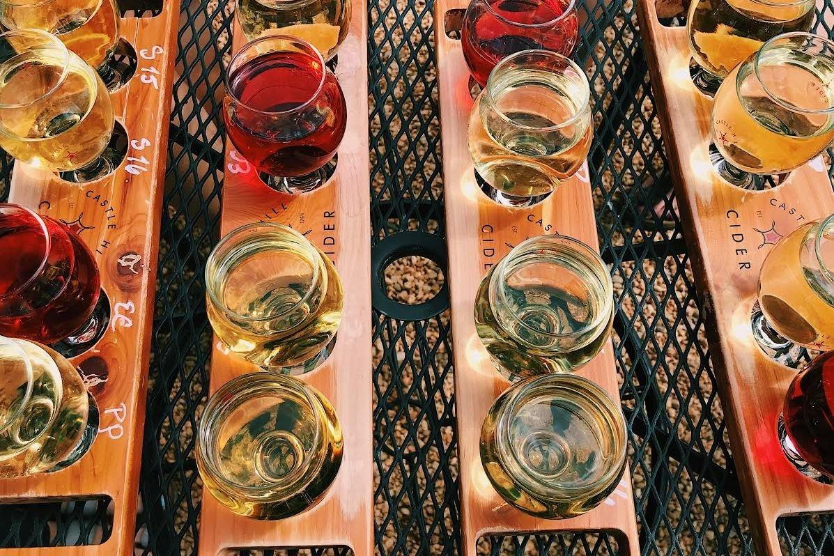 "<p>Because a winery tour is<em> so</em> last year. Venture up to North Carolina or Virginia to get a taste of Southern hard cider. Visit a local cidery, like <a href=""https://boldrock.com/"">Bold Rock Cidery & Taproom</a> or <a href=""https://www.castlehillcider.com/"">Castle Hill Cider</a> in Charlottesville, and make sure to spring for a flight of seasonal flavors. You'll be treated to stunning views of the orchards while you're sipping on a ""brew."" </p> <p><em><a href=""https://www.southernliving.com/travel/virginia/things-to-do-in-charlottesville-va"">Read more about things to do in Charlottesville, Virginia</a></em></p>"