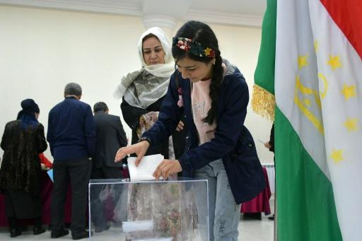 Only one identifiable opposition party is competing in Sunday's ballot -- the Social Democratic Party of Tajikistan, which has never entered parliament