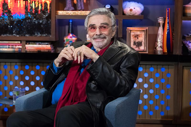 The late Burt Reynolds, pictured in March 2018, was also supposed to appear in the film. After he died of a heart attack in September, he was replaced by Bruce Dern. (Photo: Charles Sykes/Bravo/NBCU Photo Bank)