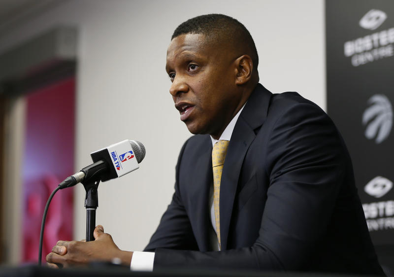 Sheriffs admit Raptors exec Masai Ujiri showed ID before Oracle Arena incident