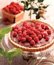 "<p>The rich chocolate filling topped with fresh raspberries is delicious enough on its own, but the buttery shortbread crust adds a savory crunch that makes this dessert irresistible. </p><p><strong><a href=""https://www.countryliving.com/food-drinks/recipes/a7130/raspberry-ganache-tart-441/"" rel=""nofollow noopener"" target=""_blank"" data-ylk=""slk:Get the recipe"" class=""link rapid-noclick-resp"">Get the recipe</a>.</strong></p><p><a class=""link rapid-noclick-resp"" href=""https://www.amazon.com/Fox-Run-44513-Bottom-Quiche/dp/B000QIZ1I2/?tag=syn-yahoo-20&ascsubtag=%5Bartid%7C10050.g.1138%5Bsrc%7Cyahoo-us"" rel=""nofollow noopener"" target=""_blank"" data-ylk=""slk:SHOP TART PANS"">SHOP TART PANS</a></p>"