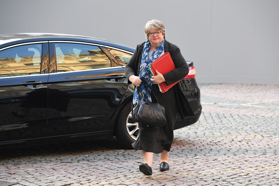 Work and pensions secretary Therese Coffey (Photo: Press Association)