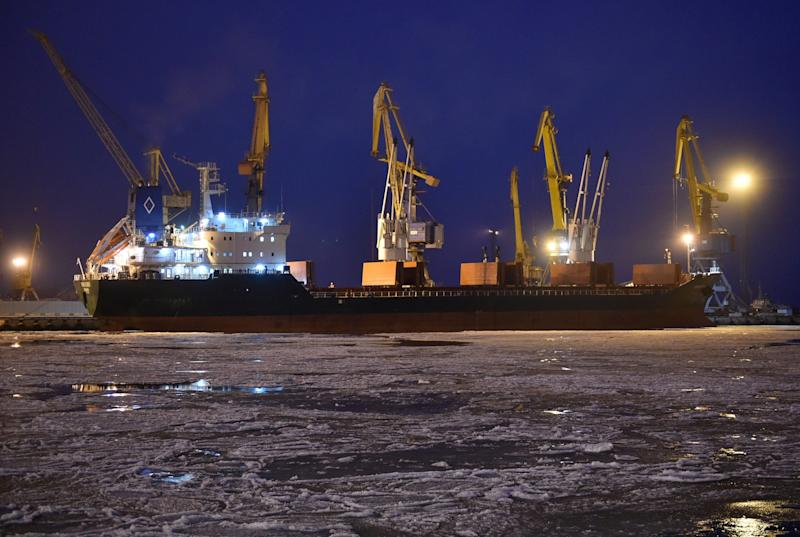 Ukraine Says Russia Partially Unblocked Its Azov Sea Ports