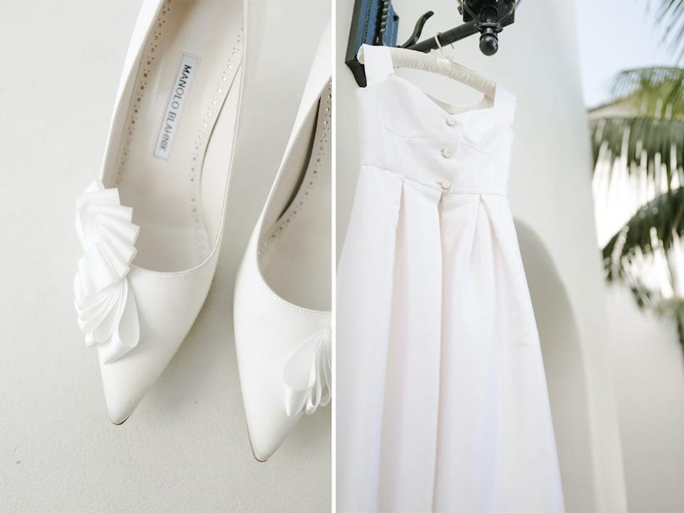 shoes and dress