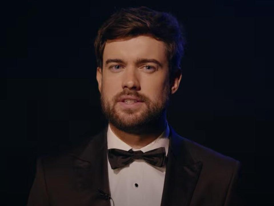 Jack Whitehall presents the 2020 GQ Men of the Year Awards (YouTube/screengrab)