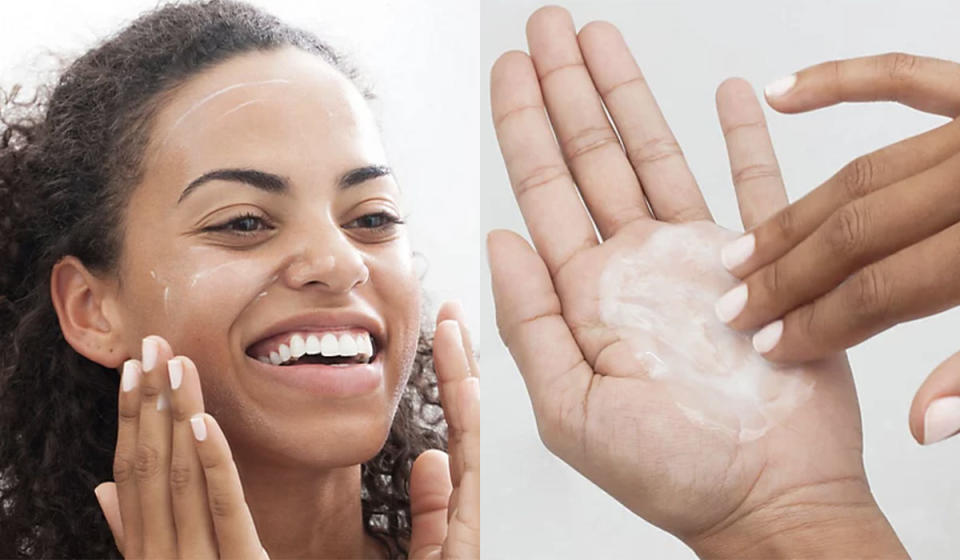 The gentle lather removes all impurities. (Photo: QVC)