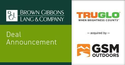 Brown Gibbons Lang & Company (BGL) is pleased to announce the sale of TRUGLO, Inc. to GSM Outdoors. BGL's Consumer Group served as the exclusive financial advisor to TRUGLO in the process. Founded in 1993, TRUGLO invented the first multicolor fiber-optic archery pin sight. Today, the company is a leading worldwide brand focused on recreational shooting sports and archery enthusiasts. The transaction furthers BGL's market-leading position in outdoor enthusiast investment banking.