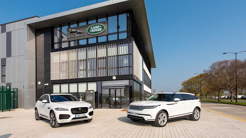 Jaguar Land Rover cryptocurrency tech