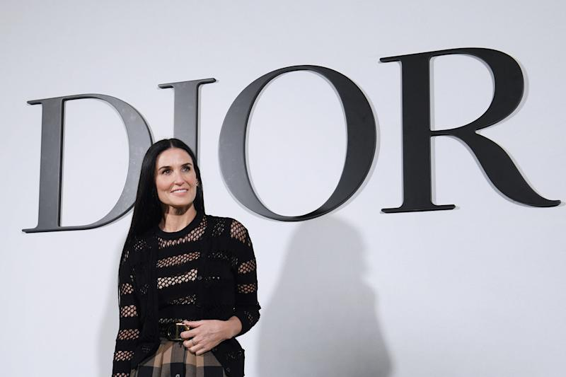 Demi Moore is part of the A-list cast for 'Songbird'. (Photo by Anne-Christine Poujoulat/AFP via Getty Images)