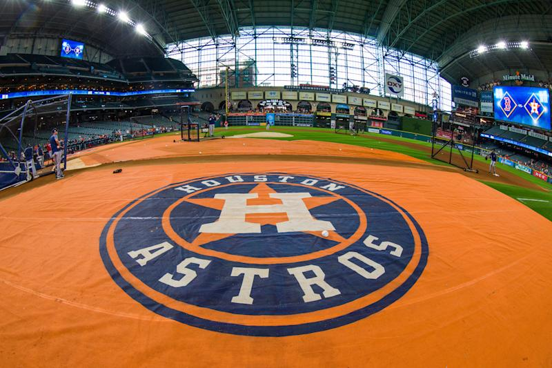 A former MLB pitcher has filed a lawsuit against the Astros. (Photo by Juan DeLeon/Icon Sportswire via Getty Images)
