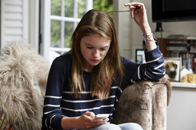The Royal College of Psychiatrists believes more should be done to protect vulnerable youngsters online [Photo: Getty]