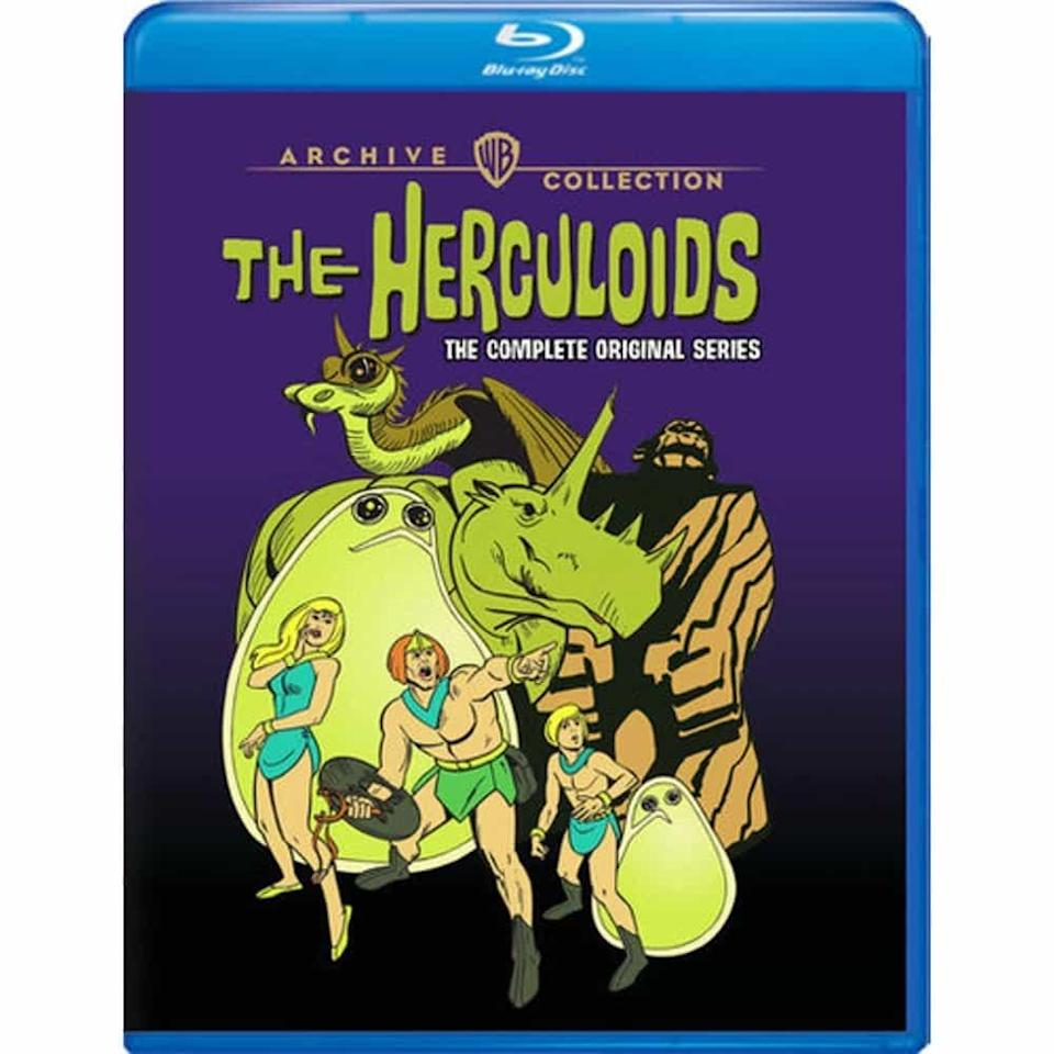 The Herculoids Blu-ray cover from Warner Archive.