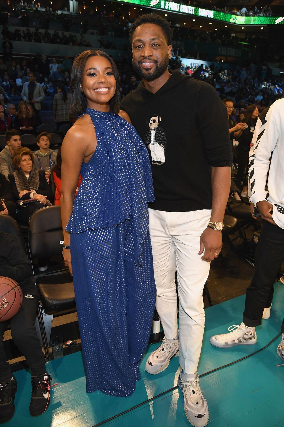 """<p>About three years after her divorce was finalized, <a href=""""https://www.prevention.com/life/a28776822/gabrielle-union-dwayne-wade-relationship-marriage/"""" rel=""""nofollow noopener"""" target=""""_blank"""" data-ylk=""""slk:Union met Wade"""" class=""""link rapid-noclick-resp"""">Union met Wade</a>, an NBA player. The two got married in Miami, Florida in August 2014 and recently had a daughter together.</p>"""