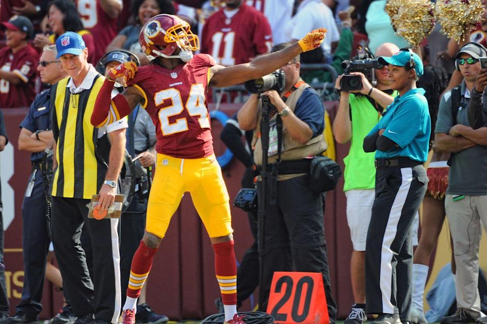 """<p>What does this mean exactly? A player <a href=""""https://www.gamedaynews.com/football/these-are-the-bizarre-rules-nfl-players-have-to-follow-or-else-theyll-be-fined/?view-all&chrome=1&A1c=1"""" rel=""""nofollow noopener"""" target=""""_blank"""" data-ylk=""""slk:can't point finger guns"""" class=""""link rapid-noclick-resp"""">can't point finger guns</a> or do bow-and-arrow motions after scoring a touchdown, for instance.</p>"""