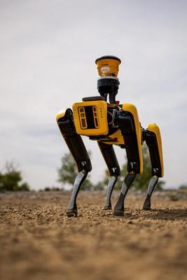 Trimble and Boston Dynamics Announce Strategic Alliance to Extend the Use of Autonomous Robots in Construction