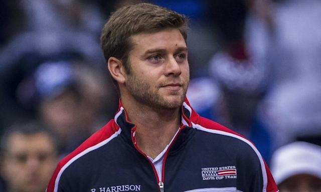 """<span class=""""element-image__caption"""">Ryan Harrison says he is 'extremely disappointed' by the allegations made against him. </span> <span class=""""element-image__credit"""">Photograph: Nikola Krstic/Action Plus via Getty Images</span>"""