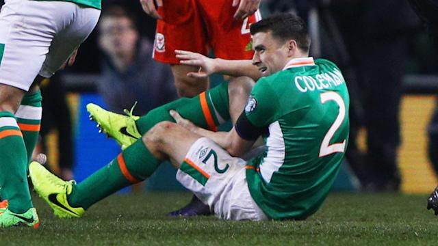 Republic of Ireland manager Martin O'Neill has confirmed captain Seamus Coleman is set to leave hospital after successful surgery.