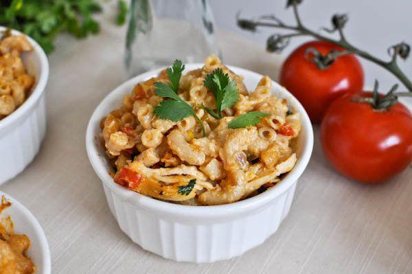 """<strong>Get the <a href=""""http://www.howsweeteats.com/2011/04/mexican-mac-and-cheese-cups/"""">Mexican Mac and Cheese Cups recipe</a> from How Sweet It Is</strong>"""