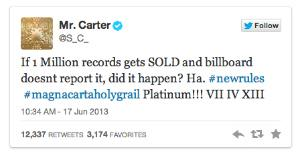 Has Jay-Z's 'Magna Carta Holy Grail' Album Gone Platinum Before Its Release?