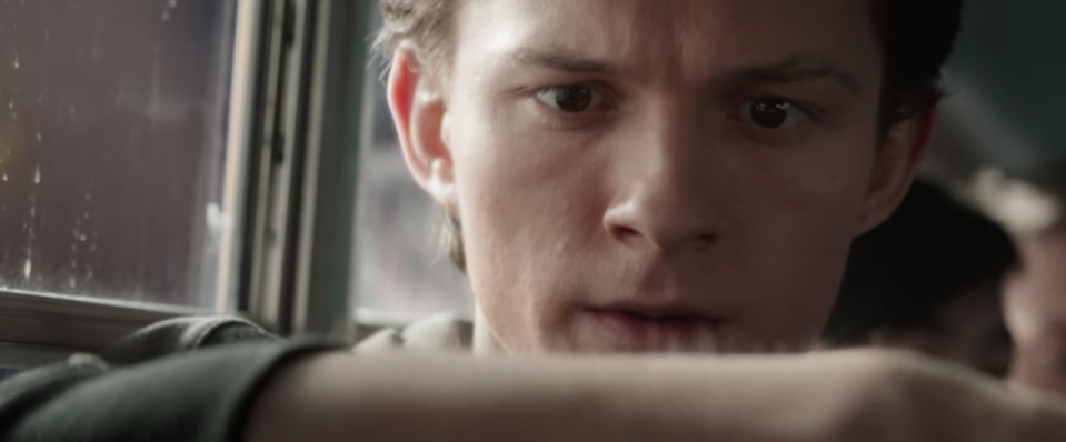 Tom Holland's spider-sense is tingling.
