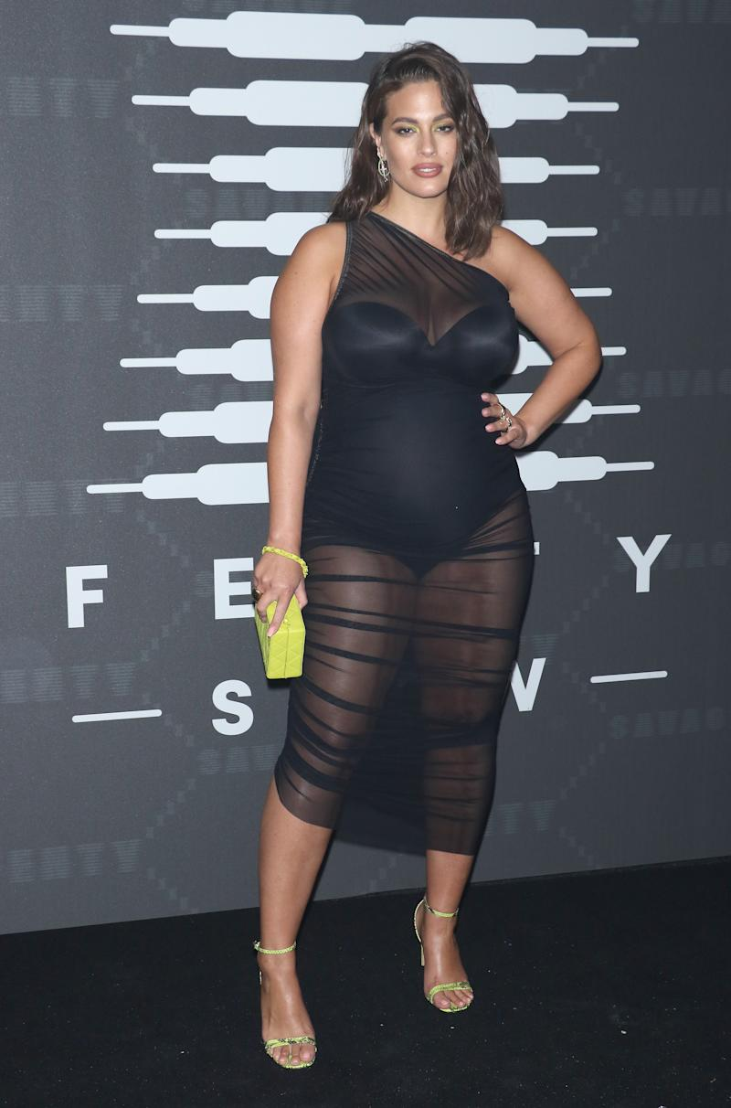 NEW YORK, NEW YORK - SEPTEMBER 10: Ashley Graham attends the Savage x Fenty arrivals during New York Fashion Week at Barclays Center on September 10, 2019 in New York City. (Photo by Jim Spellman/Getty Images)