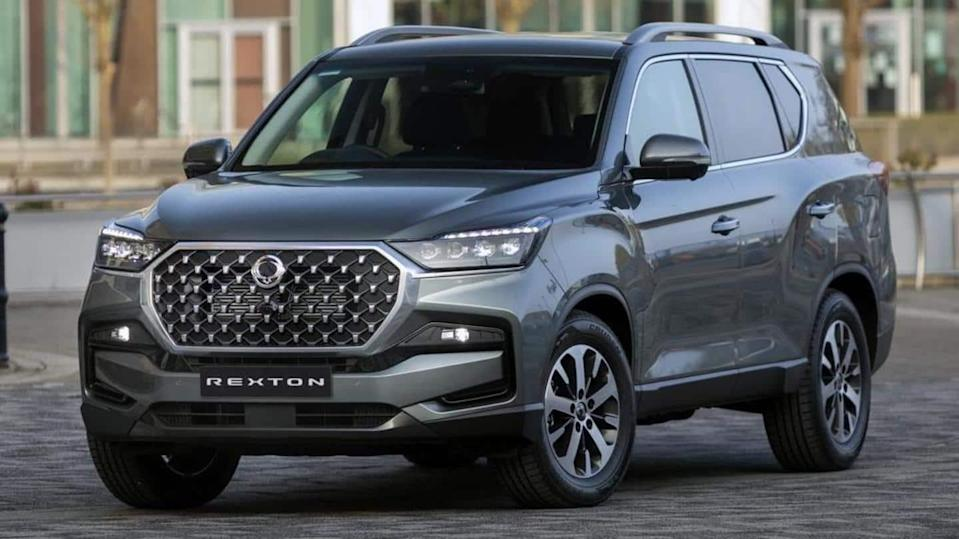 2021 SsangYong Rexton, with new design and updated engine, unveiled