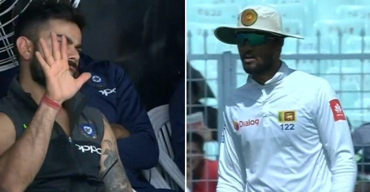 Umpire's failure to penalise it didn't go down too well with Kohli