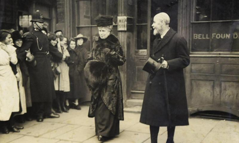 King George V and Queen Mary.