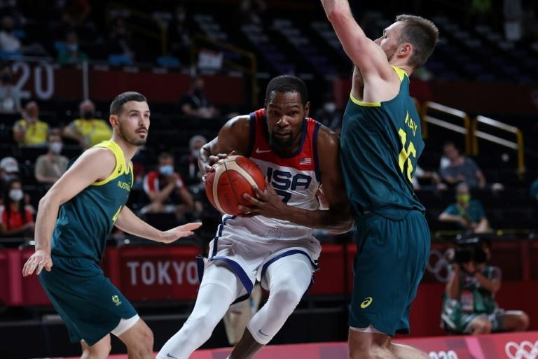 Kevin Durant steered the USA into the men's Olympic basketball final