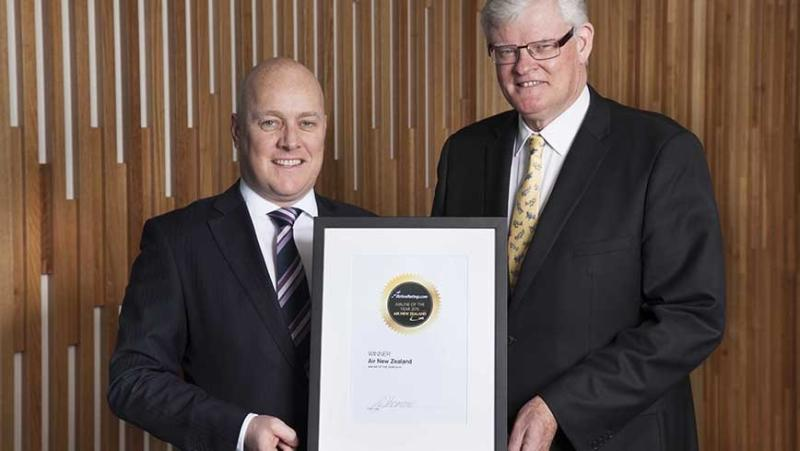 Air New Zealand 2015 airline of the year. Photo: AirlineRatings.com