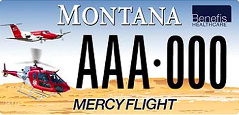 <p>Registering your car with these plates supports the Benefis Healthcare Foundation for the Mercy Flight Fund, which provides accident scene evacuation and patient transport flights for Montana.</p>