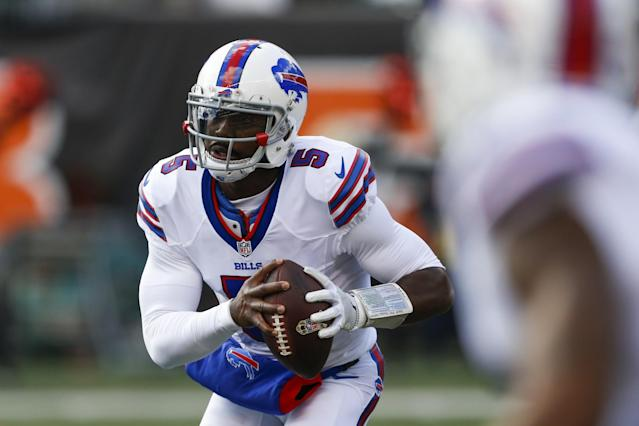 It appears the Buffalo Bills will keep quarterback Tyrod Taylor for 2017. (AP)
