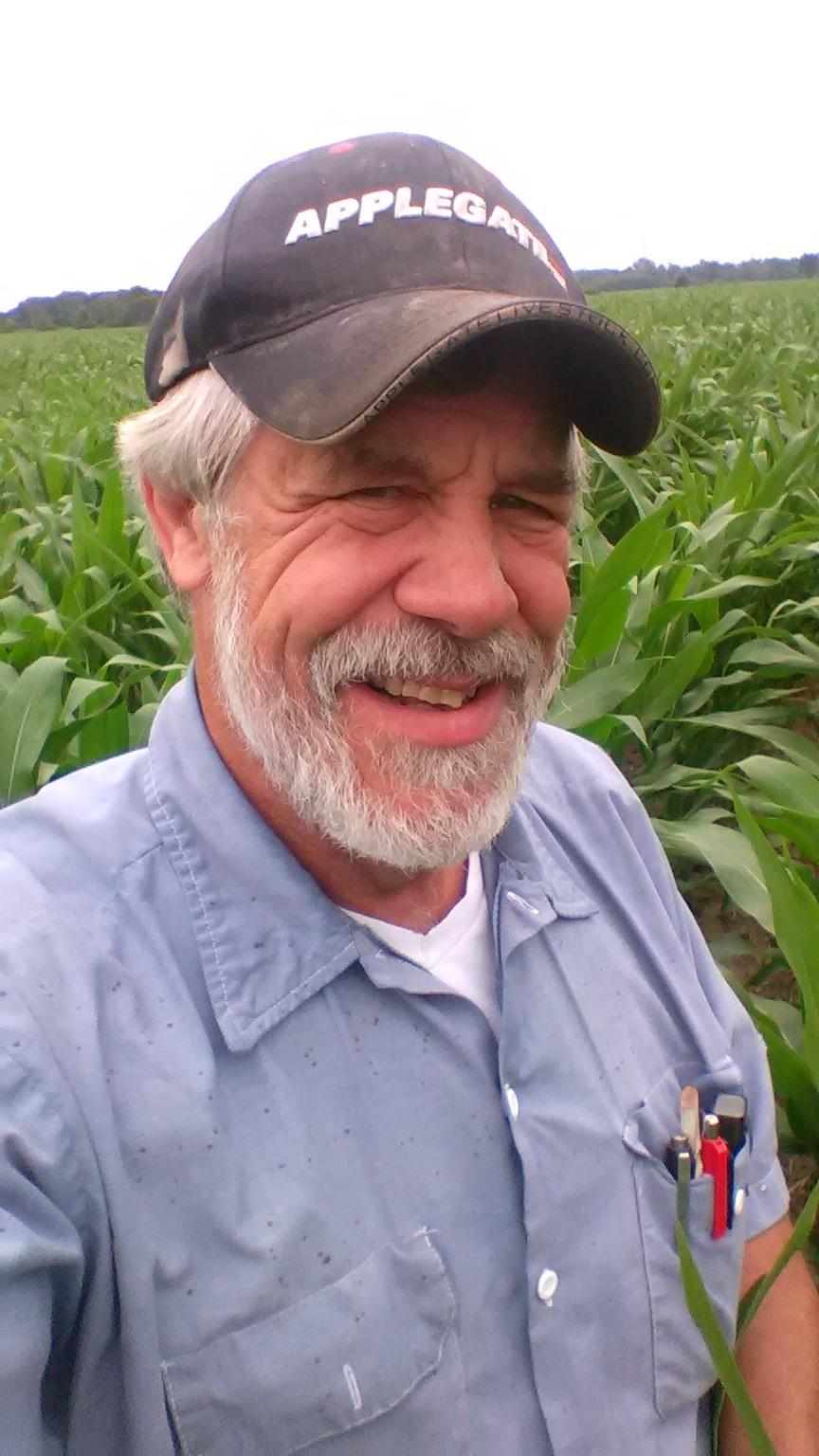 Chris Gibbs is hoping to help his fellow farmers by considering a run for Congress. (Photo: Chris Gibbs)