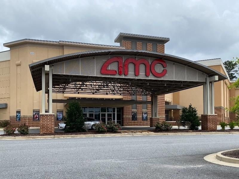 The AMC Dine-In Webb Gin 11 on Scenic Highway in Lawrenceville is one of five area AMC theaters in danger of closing.