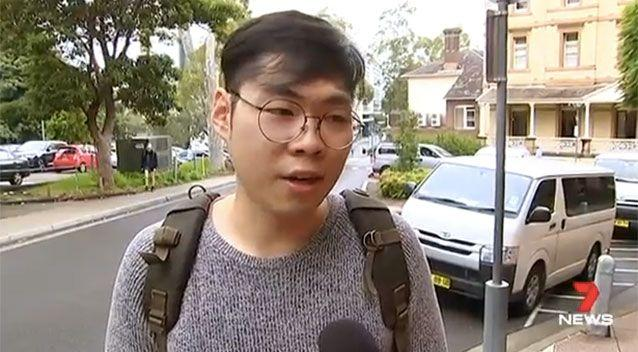 The victim's friend Quinton Lee. Picture: 7 News