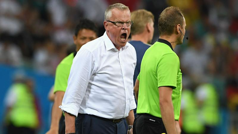 Sweden boss Andersson angered by Germany coaching staff