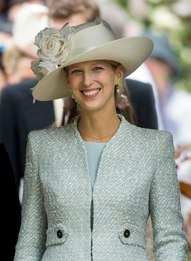 Lady Gabriella Windsor is the one member of the royal family who shares a birthday with the newborn prince. (Photo: Getty)